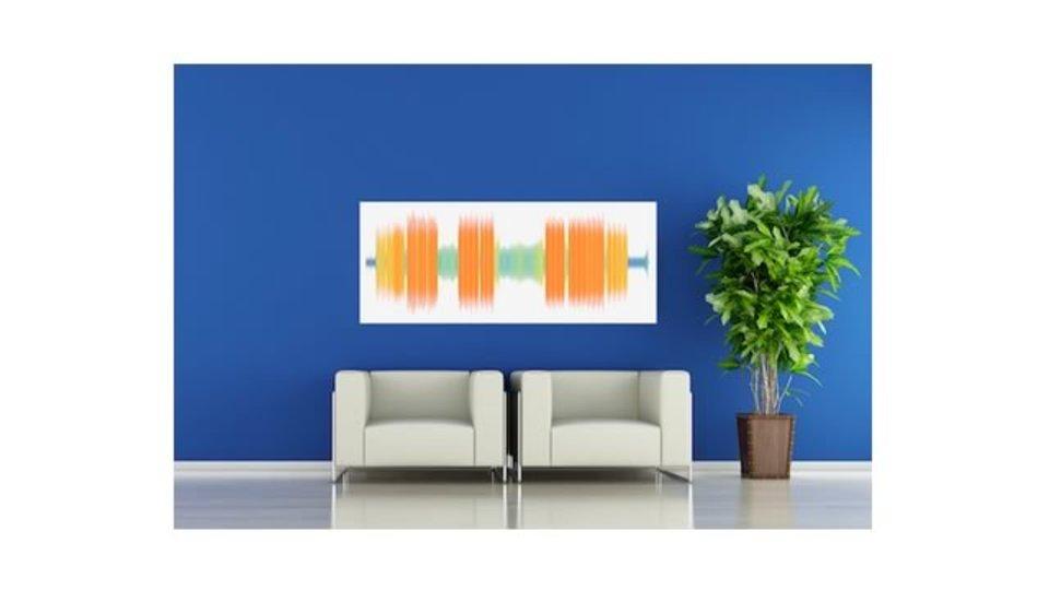 好きな音楽や声の「音波」でアートが作れるサイト「SOUNDVIZ」