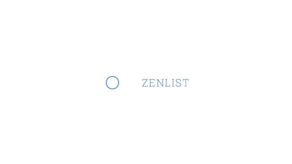 今日ぜったいやるToDoを3つだけ決められるサイト「ZENLIST」