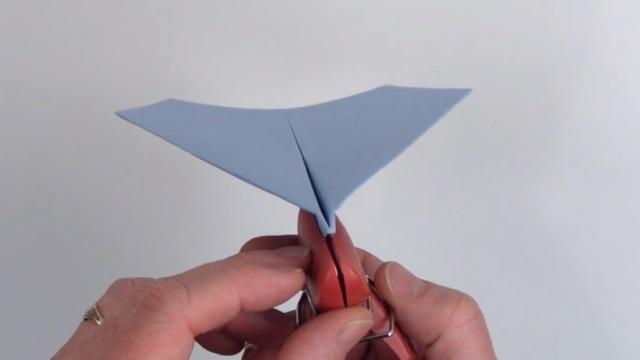 飛行距離の世界記録を樹立した紙飛行機を折る方法