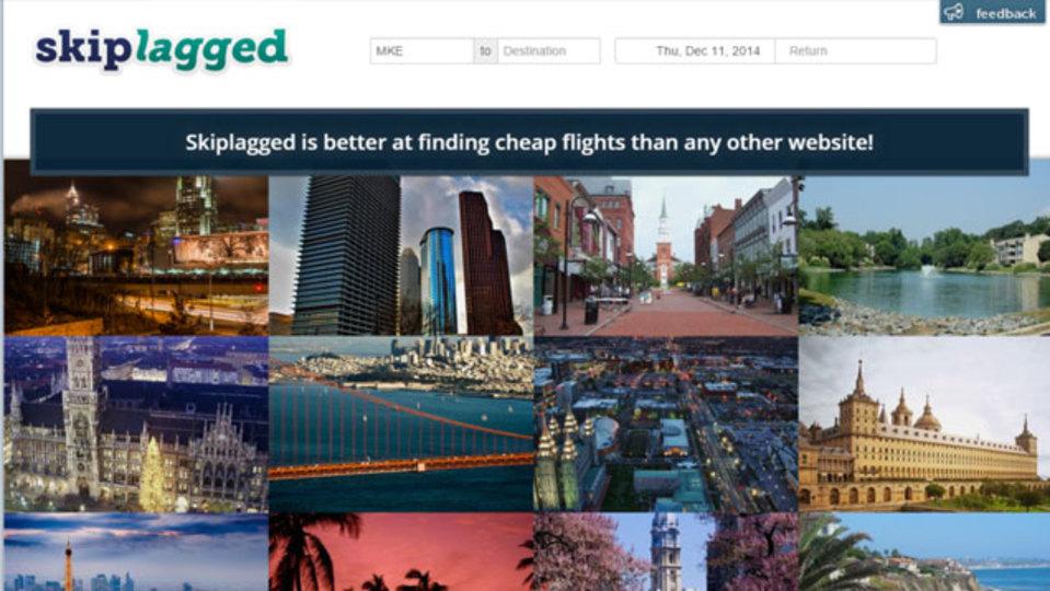 「途中降機」による最安値の航空券を探せるサイト『Skiplagged』