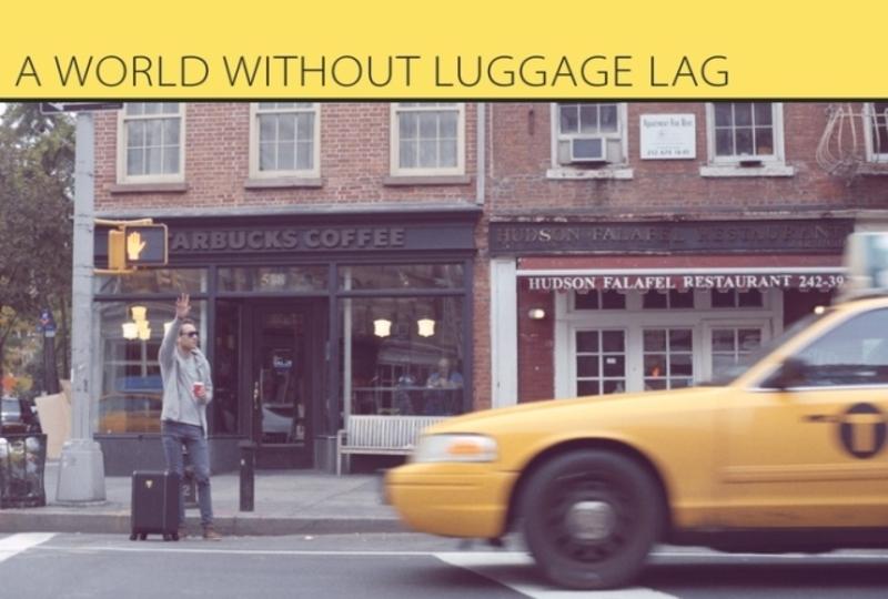 旅行に必要なテクノロジーを搭載したスーツケース