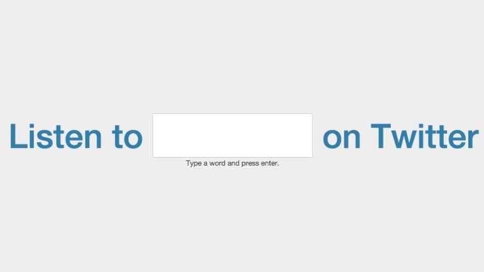 指定したキーワードを含むツイートのムードを解析してくれるサイト「Listen to Twitter」