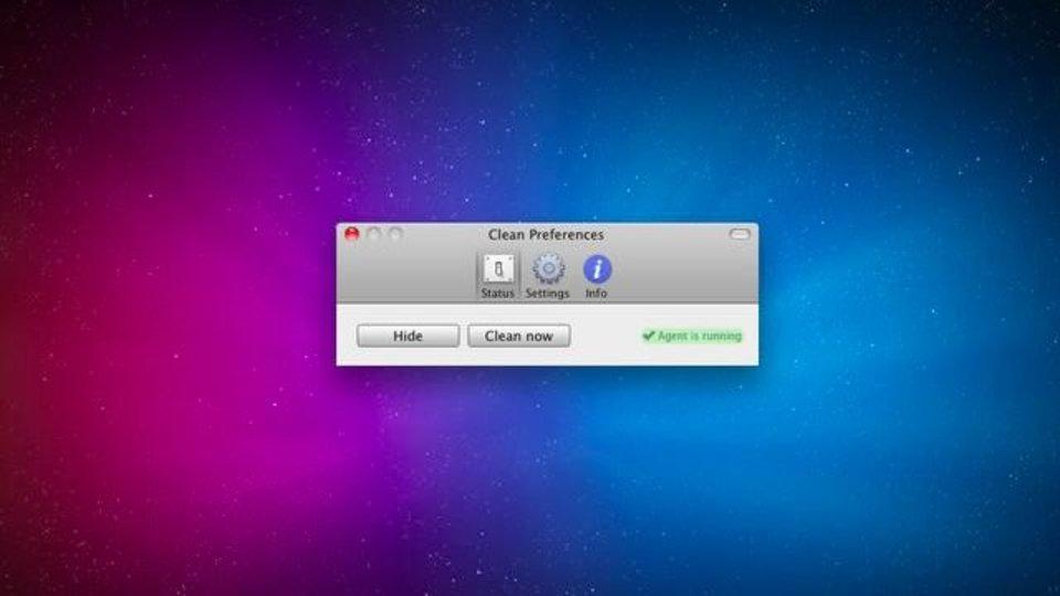 指定ディレクトリを定期的に空にするMacアプリ「Clean」
