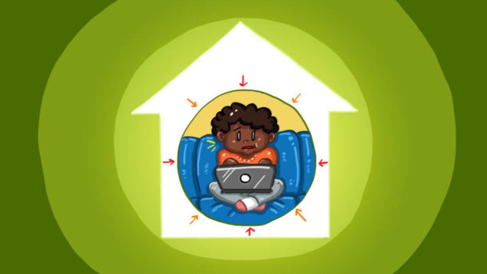 スペースが足りない自宅で効率よく仕事をする方法