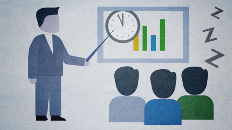 眠さに負けそうな時、長時間の会議に集中して取り組んでいられる方法