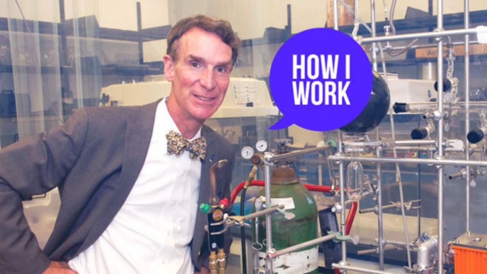 いいハックを見つければ、少しの努力で多くの成果が得られる:科学の伝道師、ビル・ナイの仕事術