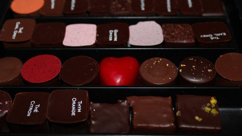 チョコレートは気分安定薬と成分構造が似ている