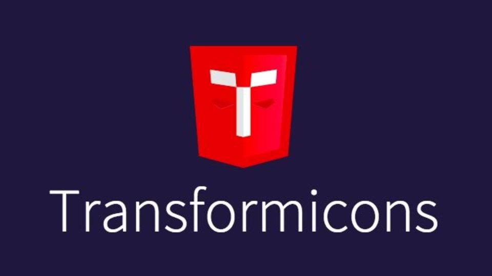 動きのあるボタンが生成できるジェネレーター「Transformicons」