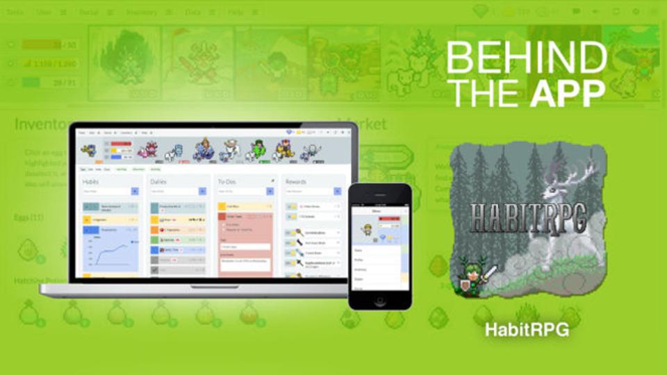 日々のToDoリストをゲームに変える『HabitRPG』誕生秘話
