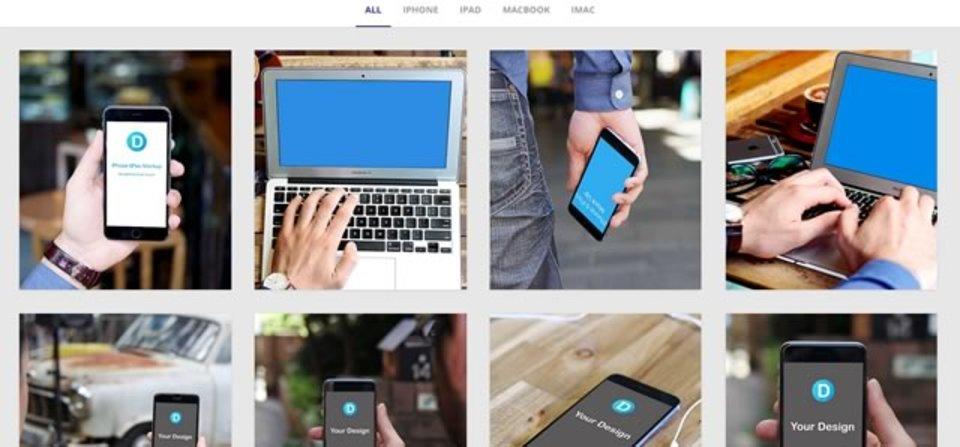 指定した写真をはめこんでiPhoneやMacBookでのイメージ画像をつくれる「Dunnnk」