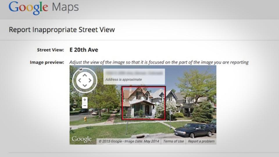 Googleマップのストリートビューから自宅を隠す方法