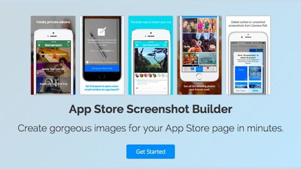 App Store用のスクリーンショットを全サイズ手軽に作成できるサイト