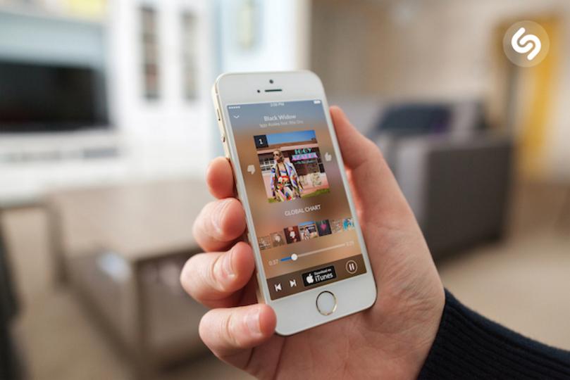 流れている曲をすぐに検索できるアプリ『Shazam』が、さらにバージョンアップしていた!
