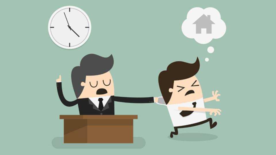 長時間残業を減らすために自分で仕事の切り上げ時を決めたいが、法的にはどうなのか?