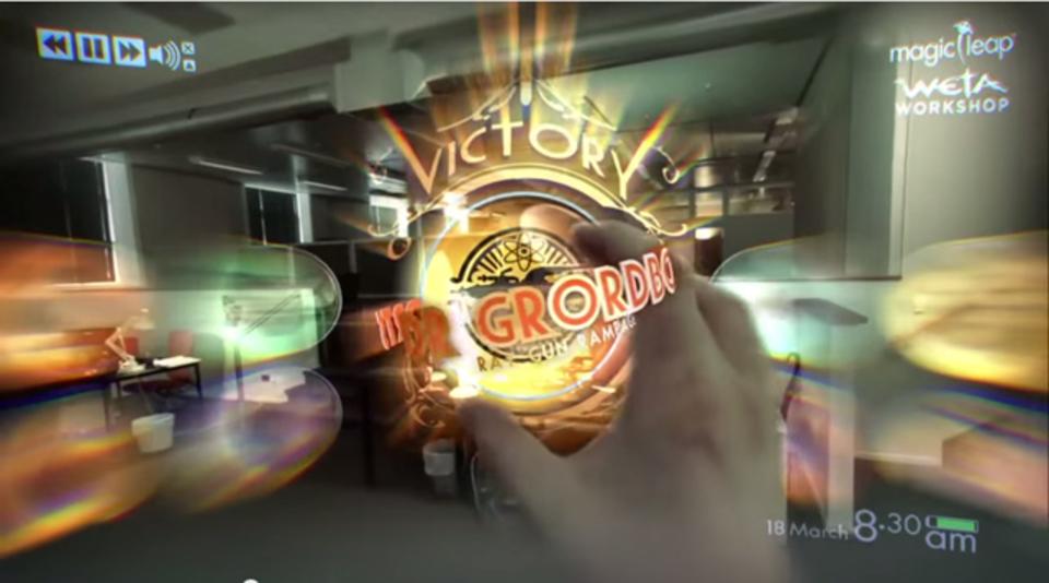 現実世界が舞台になる「Magic Leap」のARシューティングゲーム