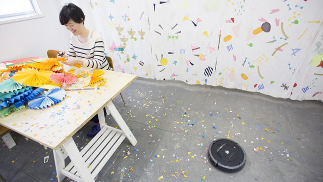 ロボットがオフィスにやってきた!デザインムジカのルンバ&ブラーバ体験