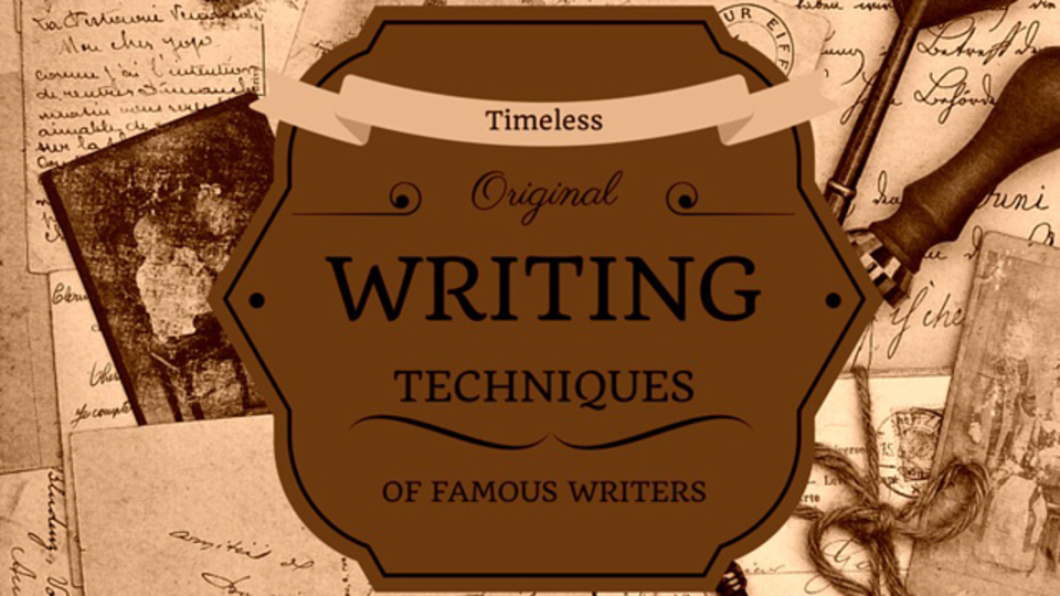 文章力を伸ばしたければ、文豪たちのテクニックを参考にしましょう