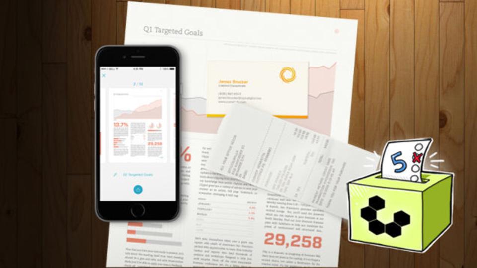 edf803b1f4 紙の資料をデジタル化できる「スマホ用スキャナ」アプリ5選 | ライフ ...