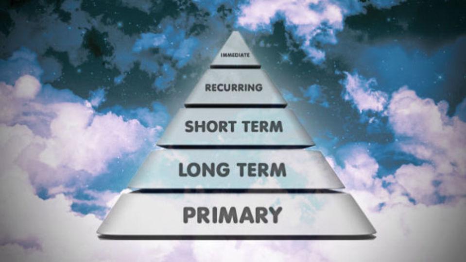 人生で本当にやりたいことを「目標の5段ピラミッド」で達成しよう