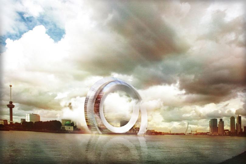 ビルの価値が変わる! 建物全体を「風力発電機」にする、オランダ発のアイデア