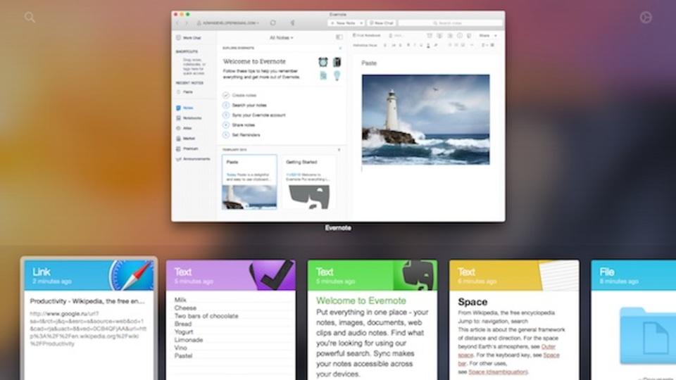 Mac用クリップボード管理アプリ『Paste』が、内容を可視化して操作できるし使いやすい