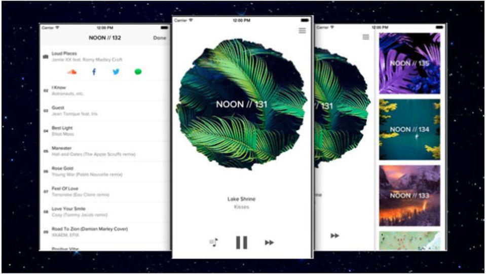 知る人ぞ知るiPhone用の音楽アプリ『Noon Pacific』が無料に