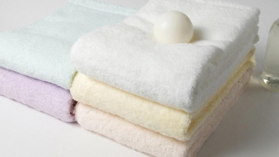 真っ白な雲のように柔らかい、今治タオルをプレゼントしよう