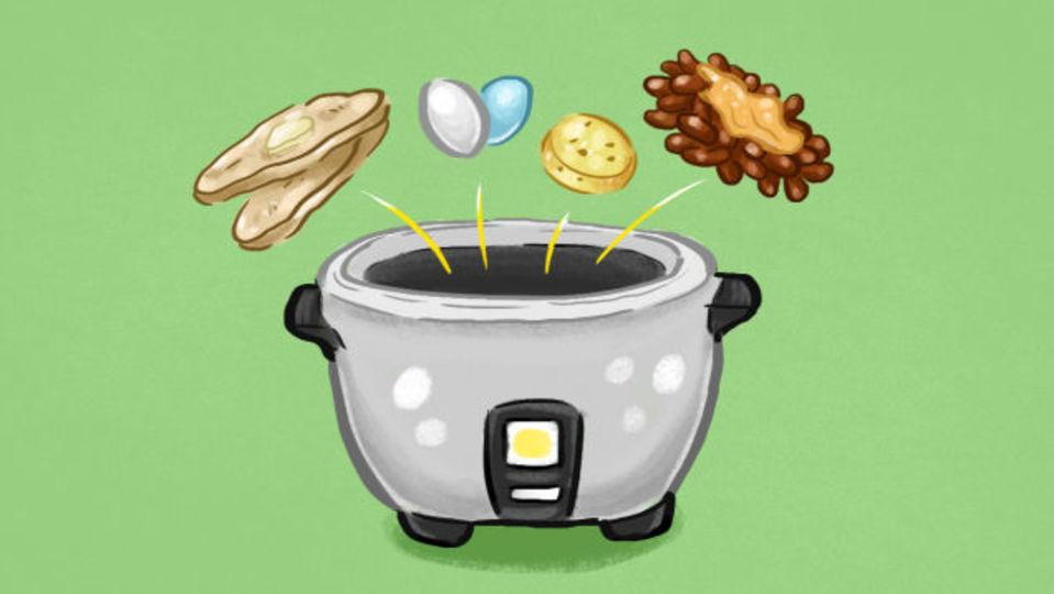 炊飯器で作れる驚きの15品
