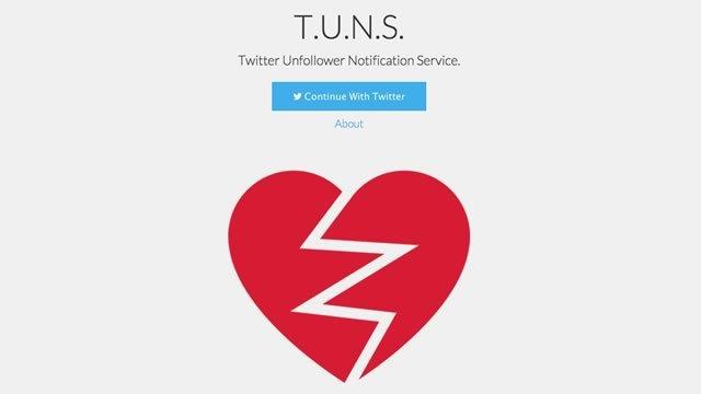 Twitterでフォロー解除されたときにお知らせしてくれるサービス「TUNS」