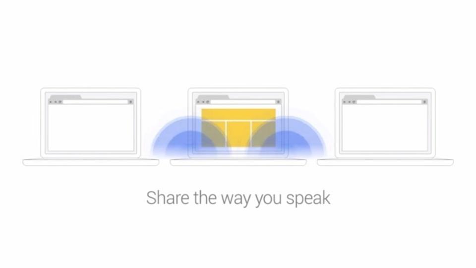 コード音声でリンクURLを瞬時にシェアできる『Google Tone』