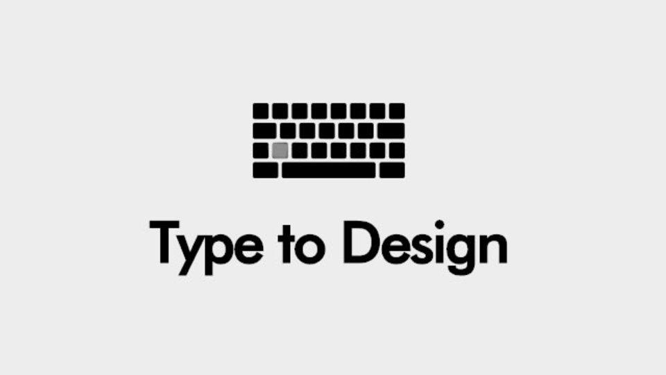 入力したアルファベットがInstagramの画像で表現されるサイト「Type to Design」