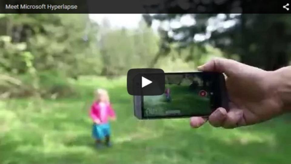 Microsoft Hyperlapsで長い動画からタイムラプス映像を作成