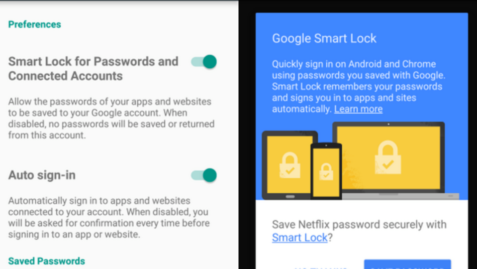 ChromeとAndroid間のパスワードを同期してくれる『Google Smart Lock』