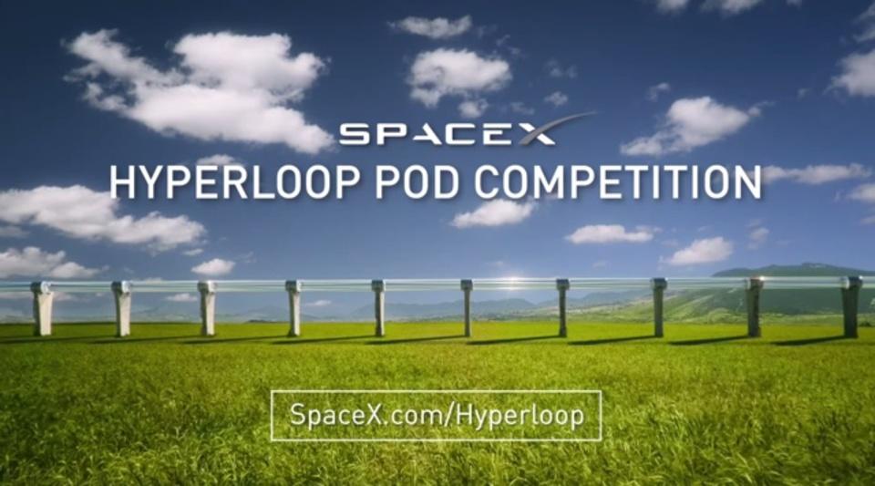 SpaceX社、イーロン・マスクのHyperloop用ポッド製作者を募集中