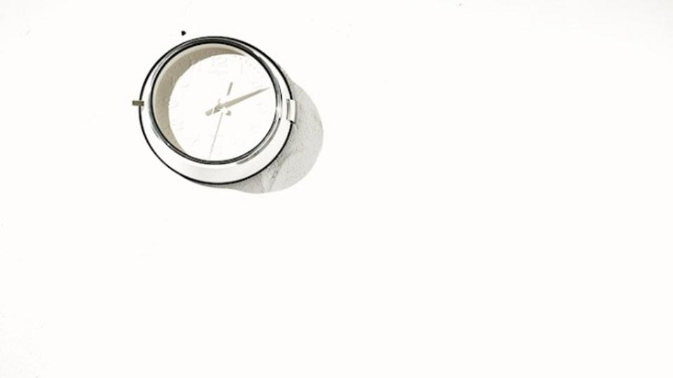 時間に追われない生活を実現するための時計