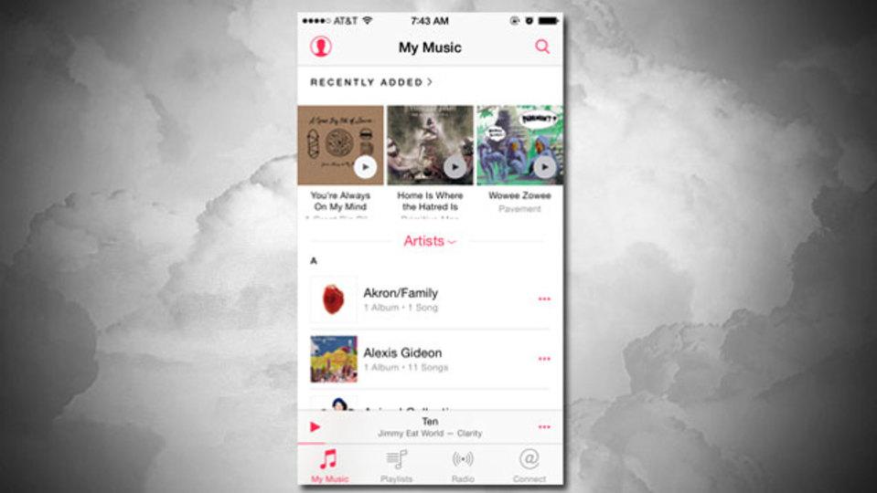 Apple Musicのインターフェイスを(できる限り)戻す方法