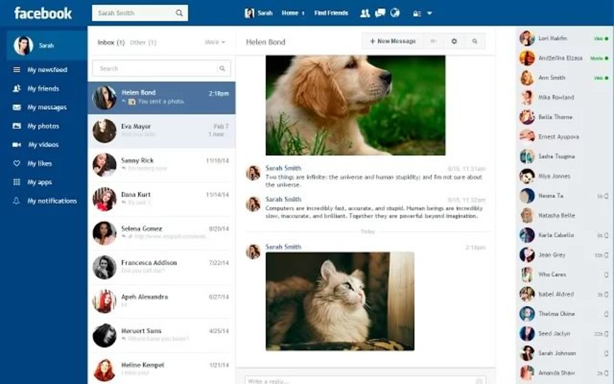 Facebookのデザインを超シンプルにしてくれる拡張機能「Facebook Flat」