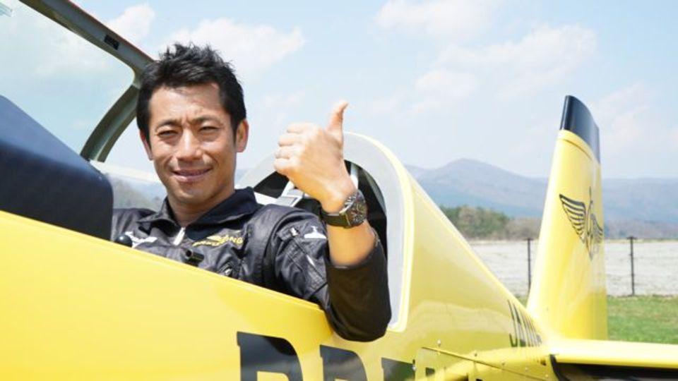 エアレース・パイロット、室屋義秀さんが実践する自己管理術【自分との戦いに打ち勝つ方法】