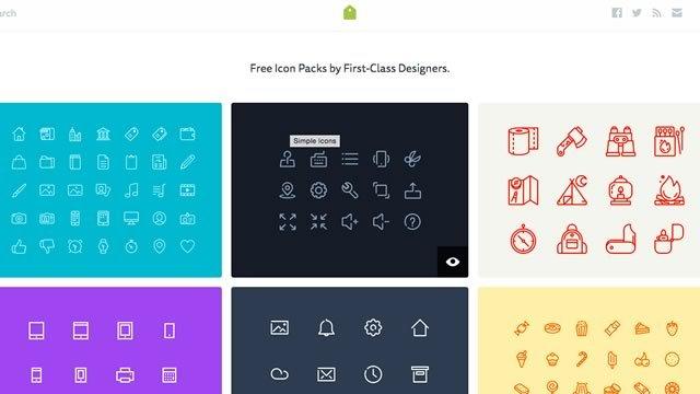 商用利用可能なアイコンセットが無料で手に入るサイト「IconStore」