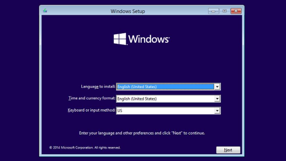 Windows 10をクリーンインストールするには