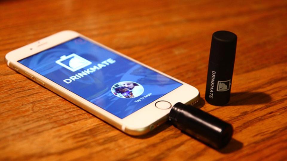 血中アルコール濃度を簡単に測定できるアプリ