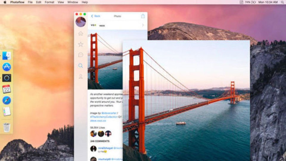 『Photoflow for Mac』で充実したInstagram生活を