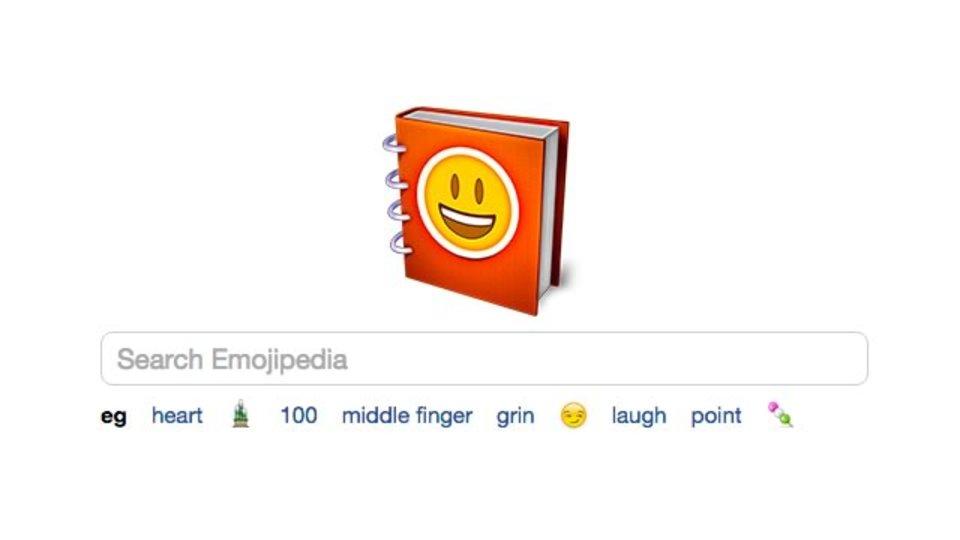絵文字情報をとことんまとめたサイト「Emojipedia」