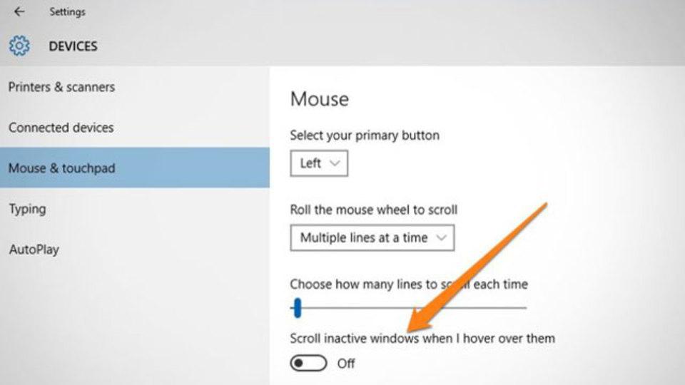 Windows 10の新機能「非アクティブ ウィンドウをスクロールする」が便利