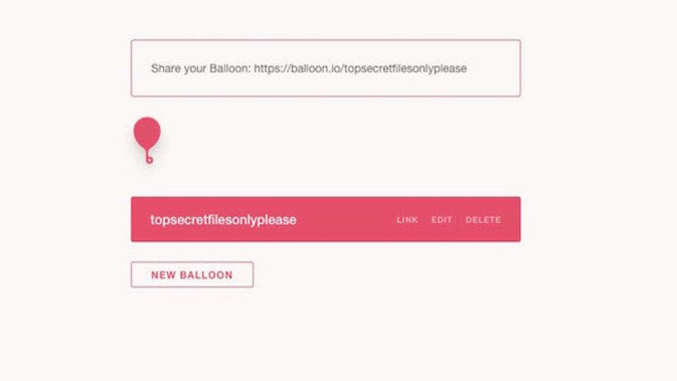 Dropboxをもっと便利に。『Balloon』を使ってファイル送信を簡単に