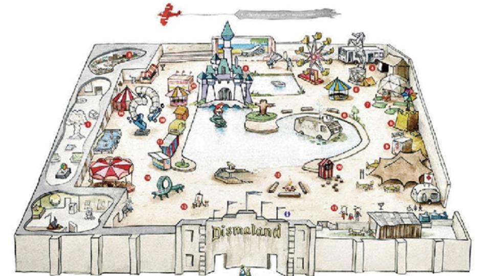 バンクシーが世界一陰気なテーマパークがオープン