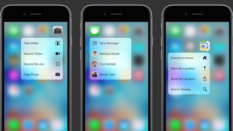 iPhone 6sで新たに登場した「3D Touch」のスゴ技