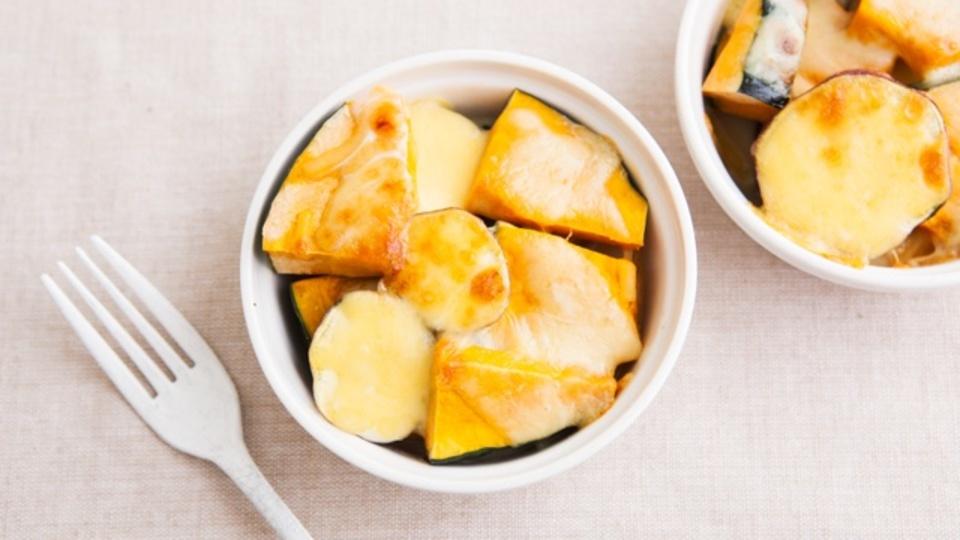時間がない朝に作るエナジー朝食:冷えによる便秘を解消「カボチャとさつまいものココット」