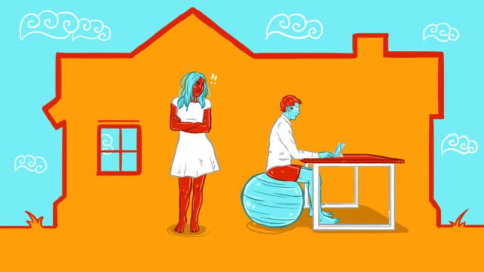 夫婦で在宅勤務をしている場合の正気の保ち方