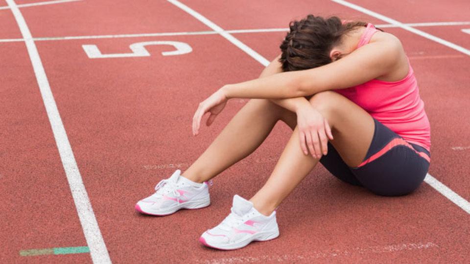 運動時の失敗を責めすぎると怪我のリスクが高まる
